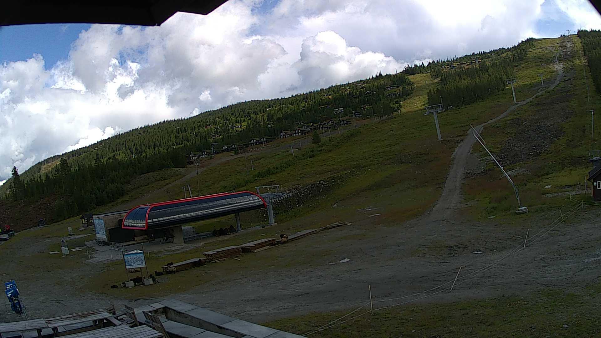Webcam Nesbyen alpinsenter, Nes, Buskerud, Norwegen